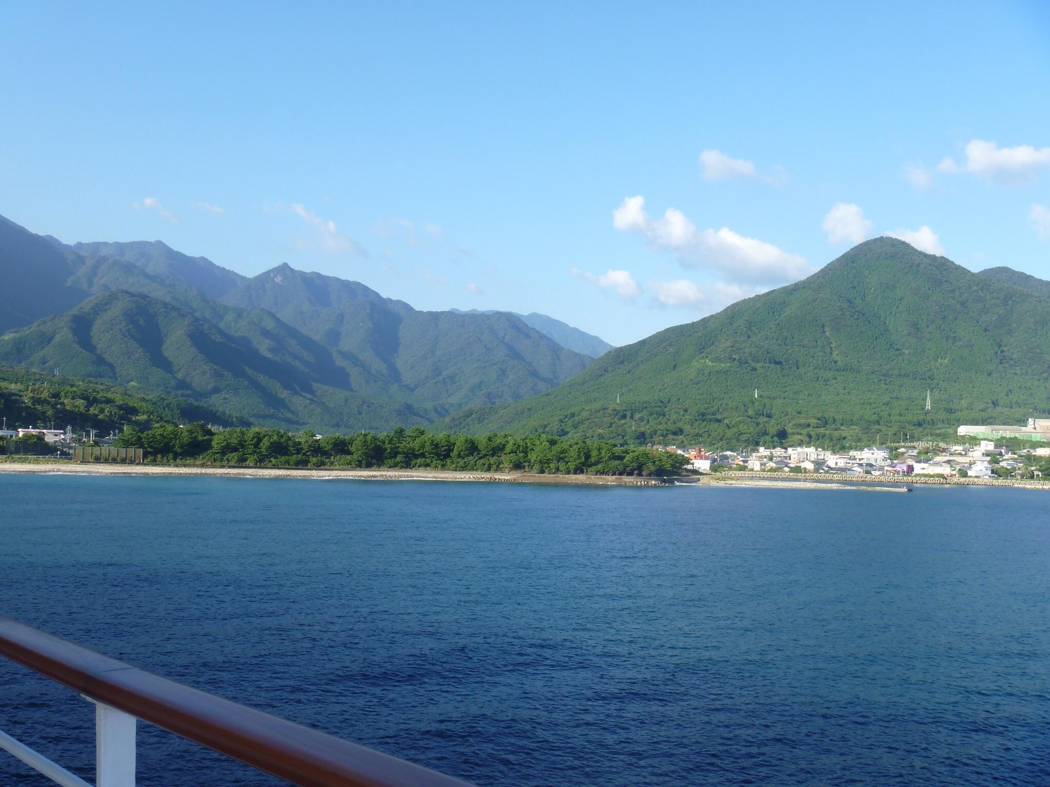 屋久島到着です。