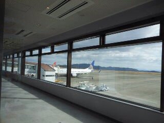 岡山空港です。