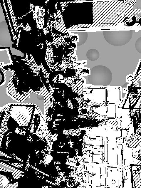 ナナパパの司会でクイズをしています。