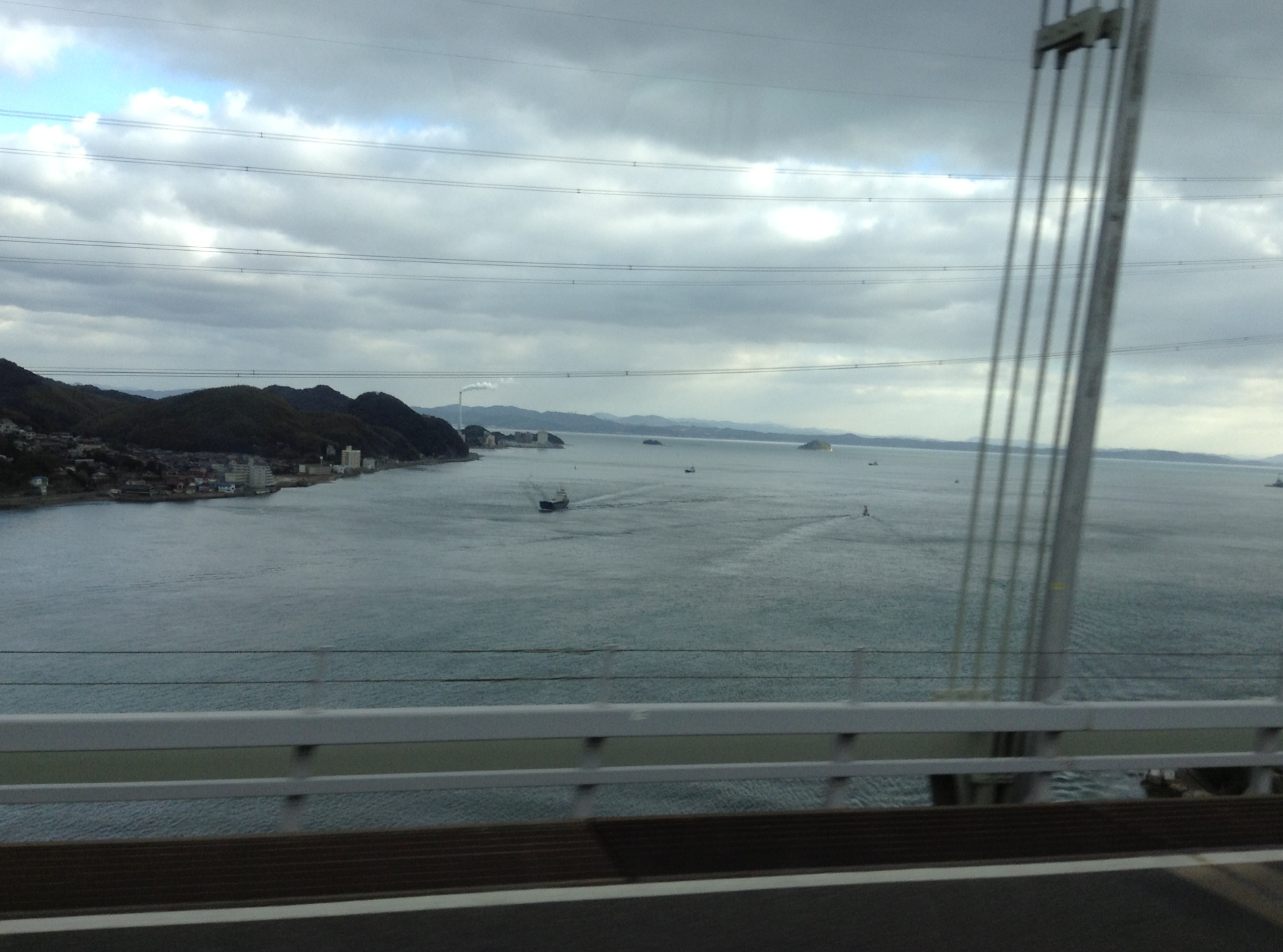 関門海峡です。