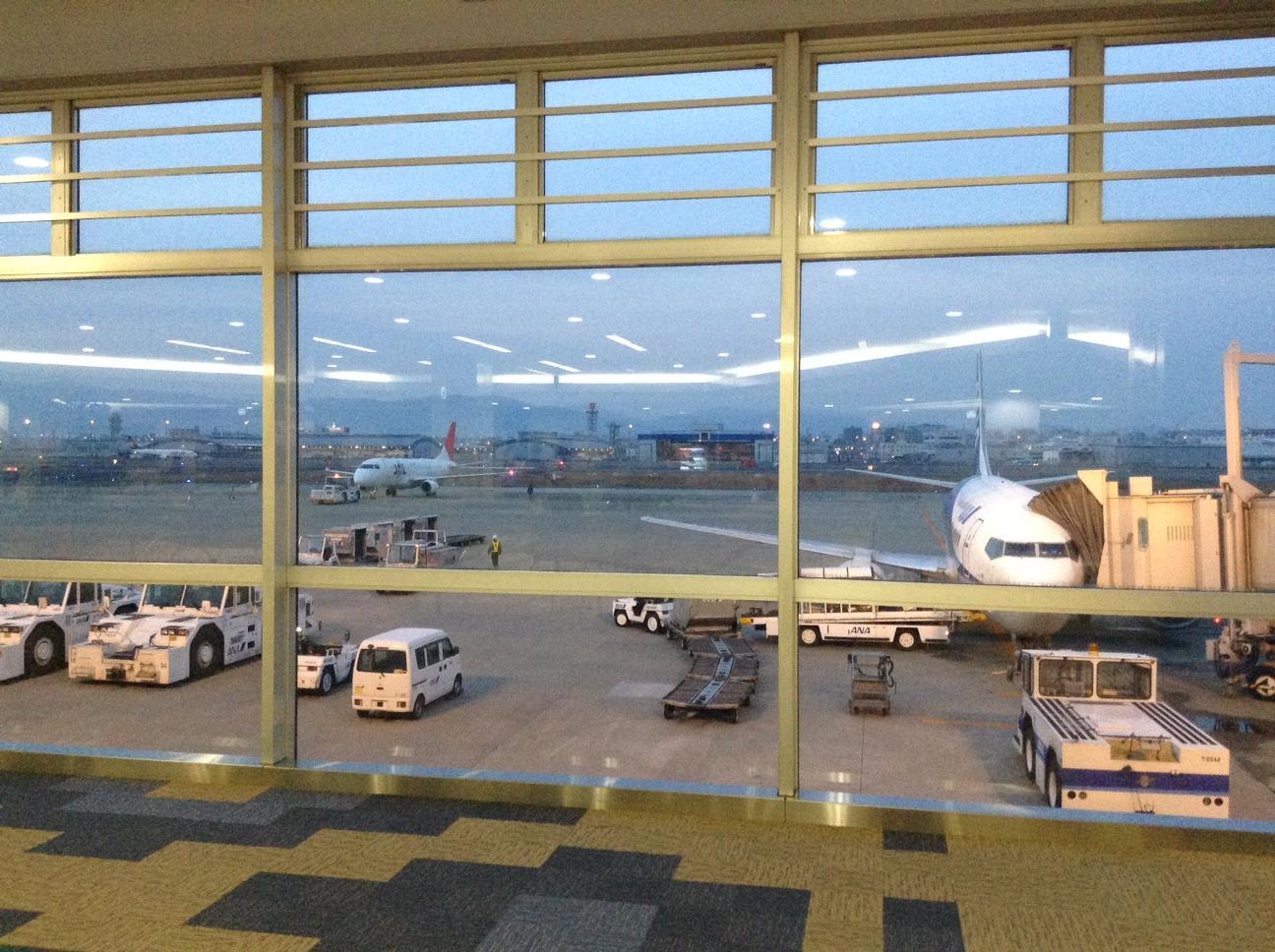 福岡空港です。