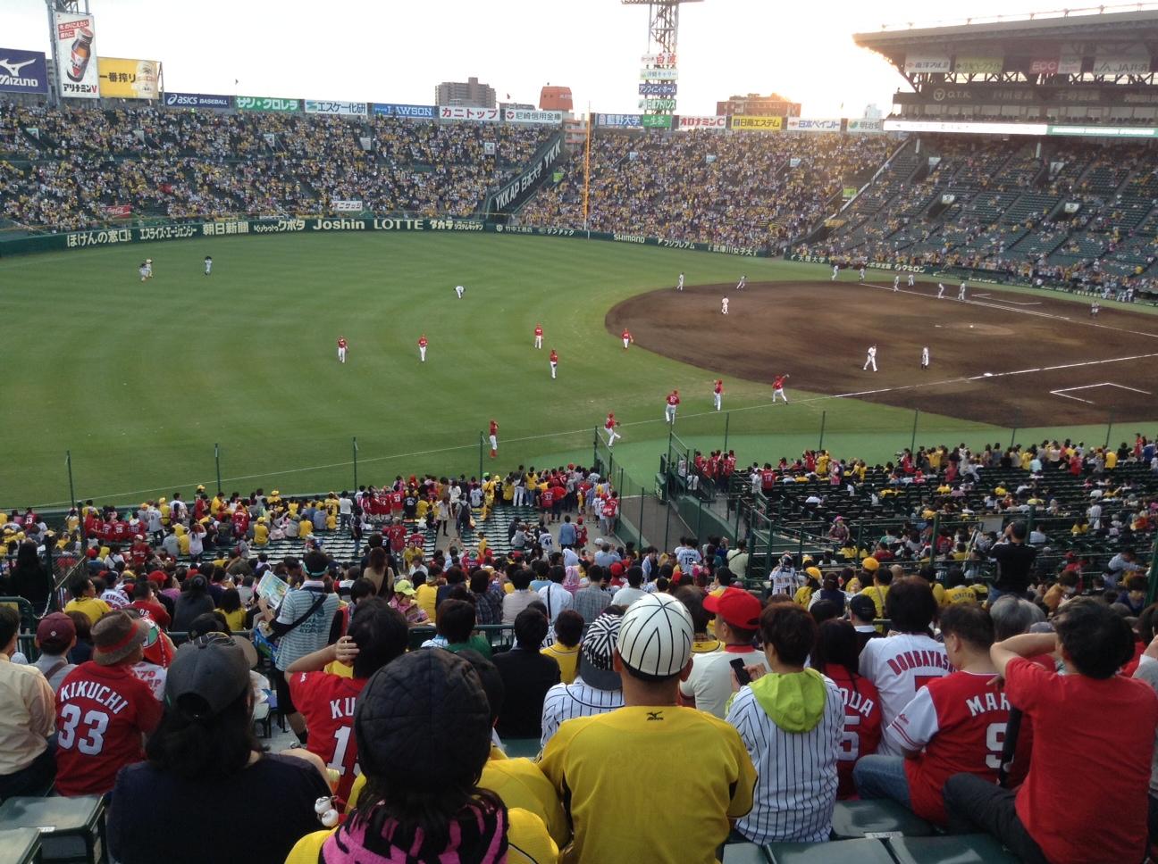 甲子園球場です。